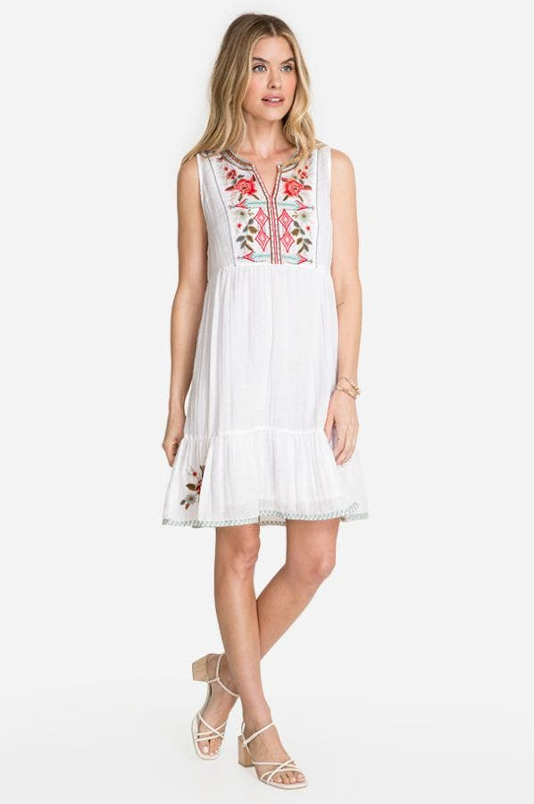 CYRIELLE EFFORTLESS BOHO TANK DRESS