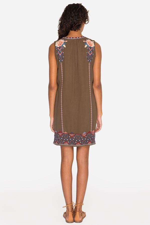 MARION PEASANT TANK DRESS