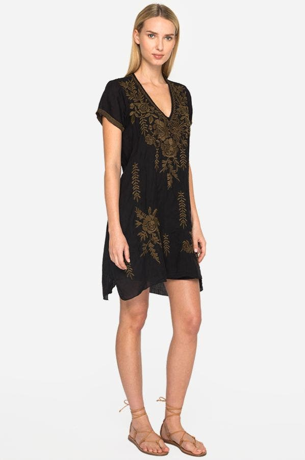 CAYDEN DRAPE TUNIC DRESS
