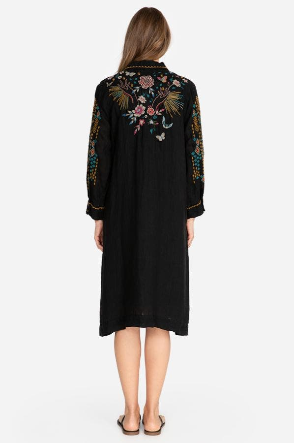 MARIPOSA HENLEY SHIRT DRESS