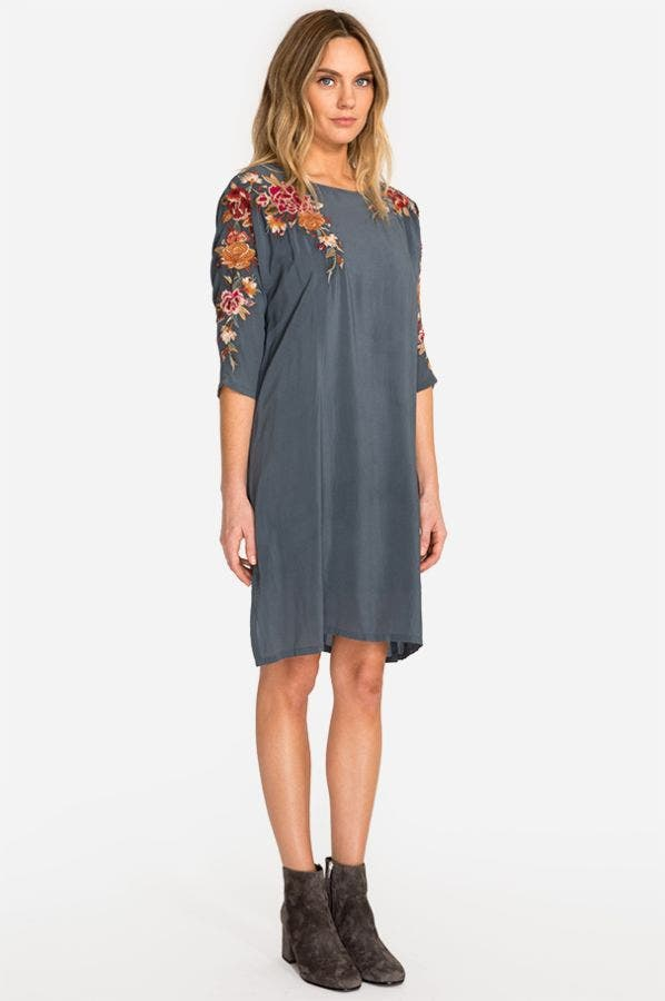STERLING KEYHOLE SHIFT TUNIC