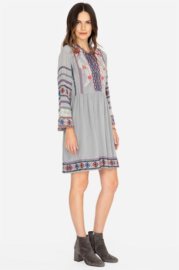 ELLIE WIDE HEM DRESS
