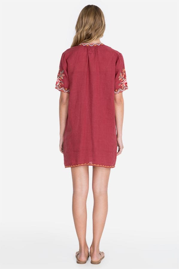 ALISE EASY V-NECK DRESS