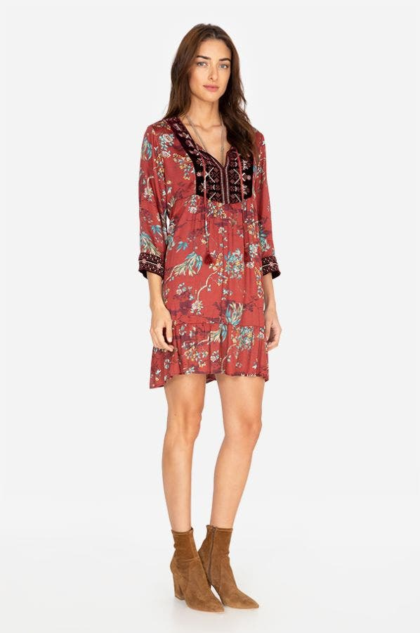 EFFORTLESS BOHO DRESS
