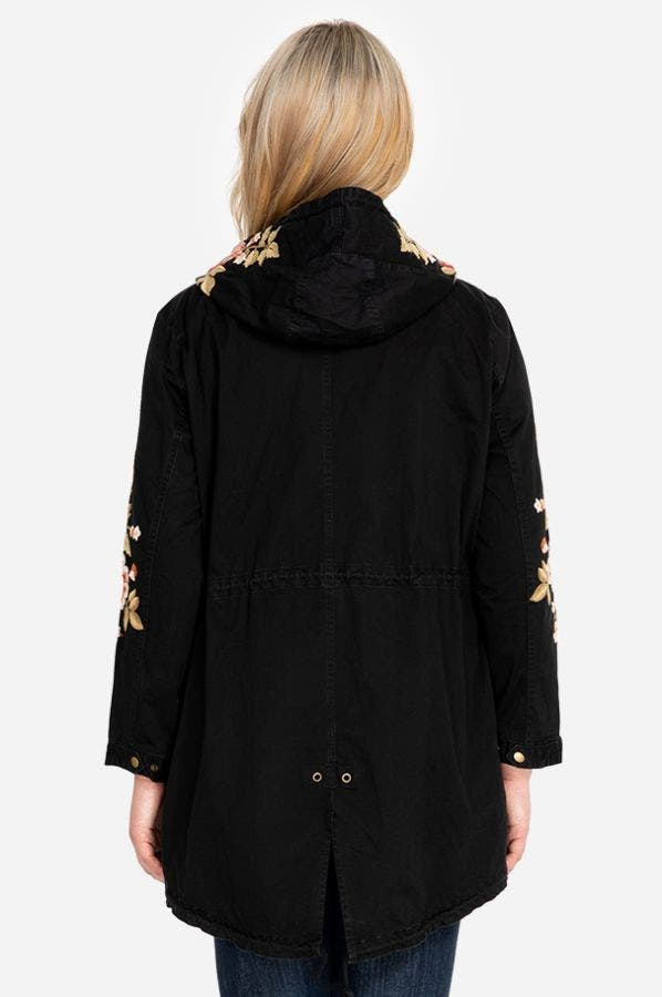 MEHDI HOODED MILITARY COAT-PLUS SIZE