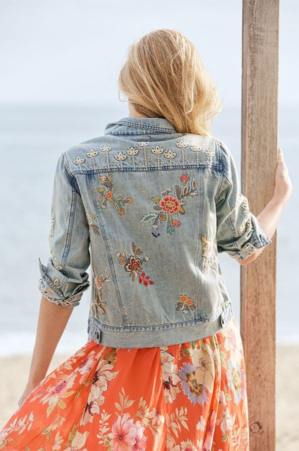 LIDIA DENIM JACKET