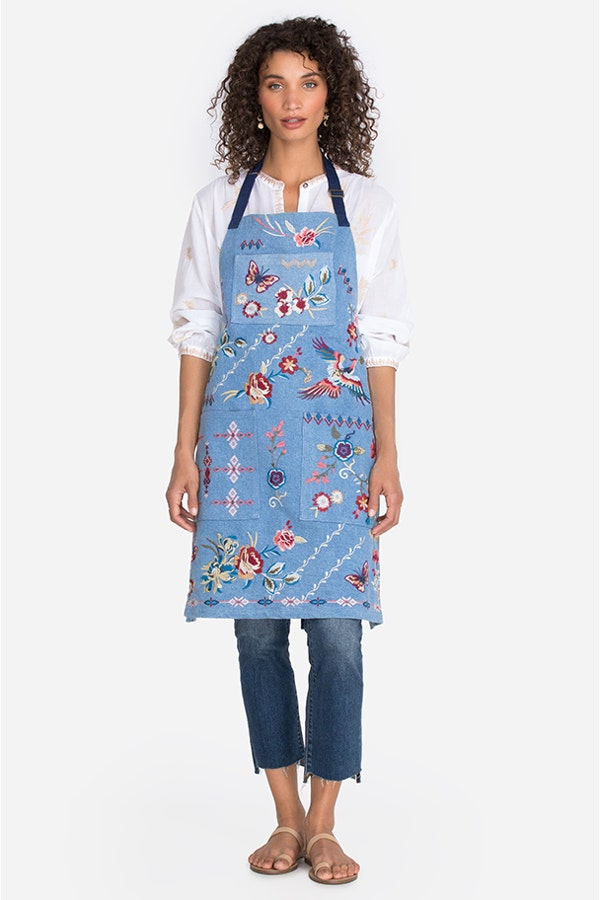 DREAMER EMBROIDERED APRON