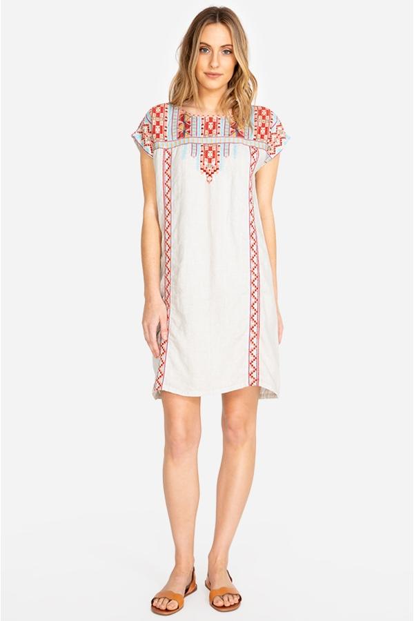 EZRA SHIFT TUNIC DRESS