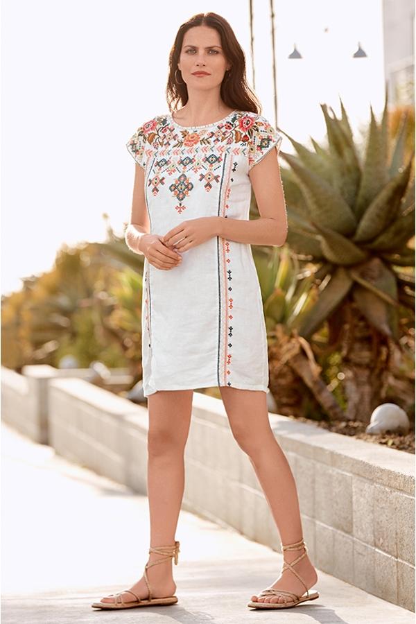 CHANDRA SHIFT TUNIC DRESS