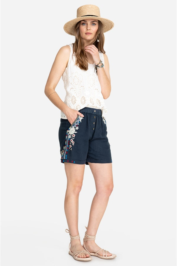 FLORENCE BUTTON FRONT SHORT