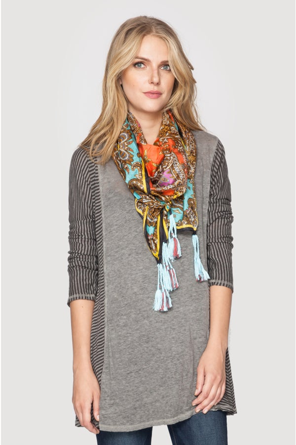 Rich Paisley Scarf