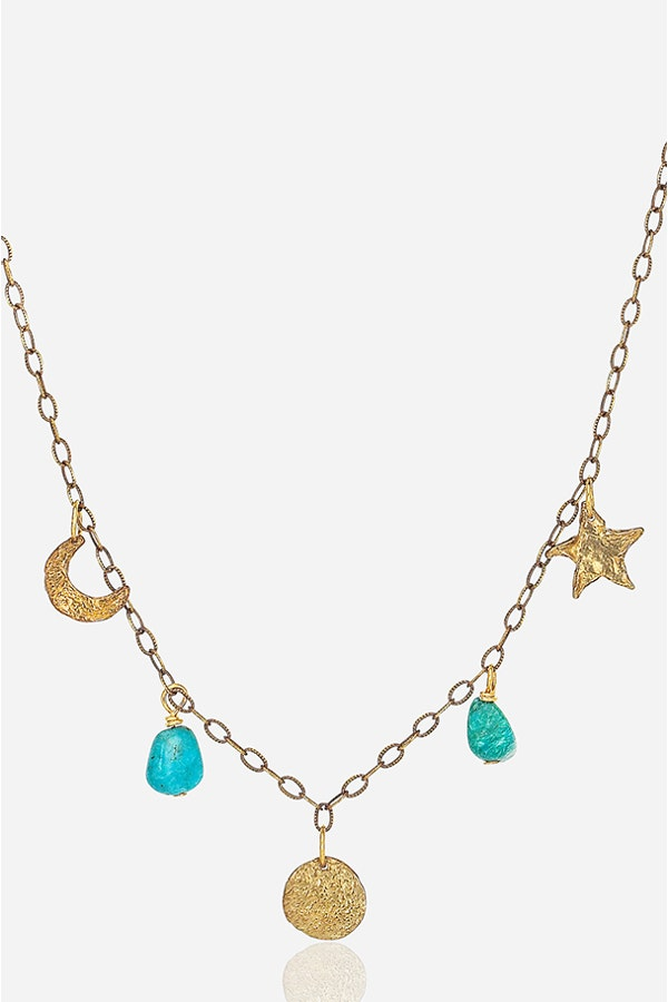 TURQUOISE CELESTIAL NECKLACE