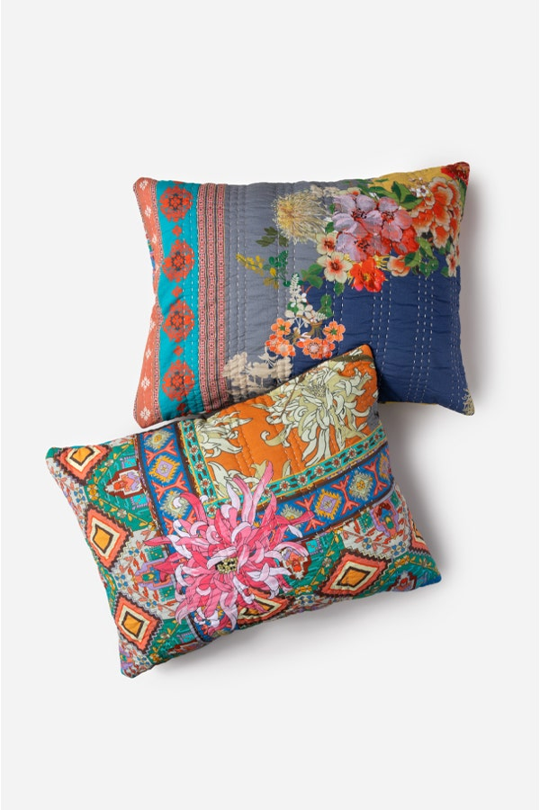 CAMELITAH AURA HAND QUILTED SHAMS