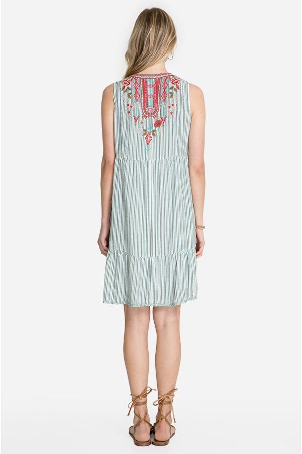 CYRIELLE EFFORTLESS BOHO TANK DRESS