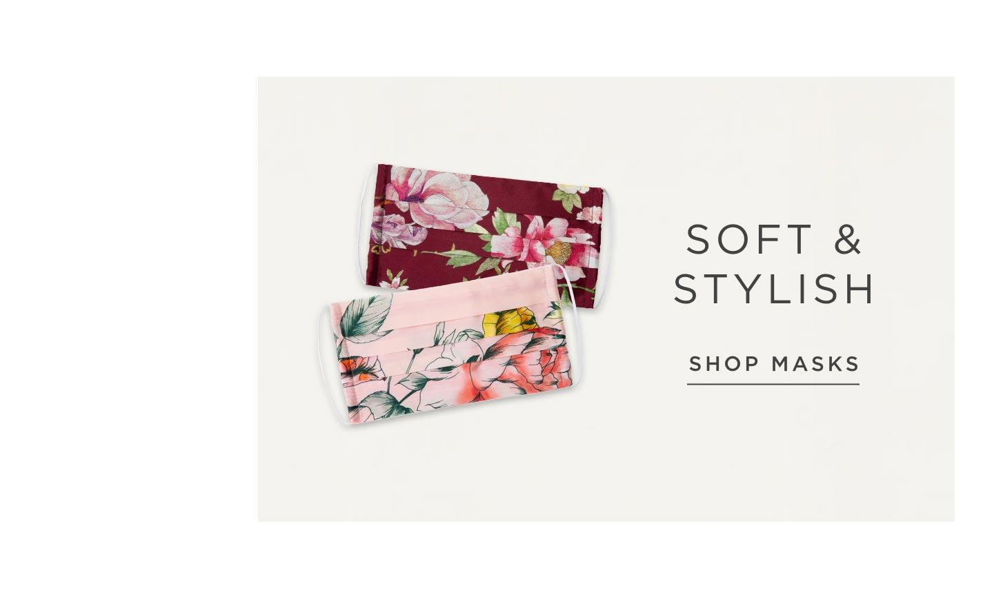 Soft & Stylish - Shop Masks