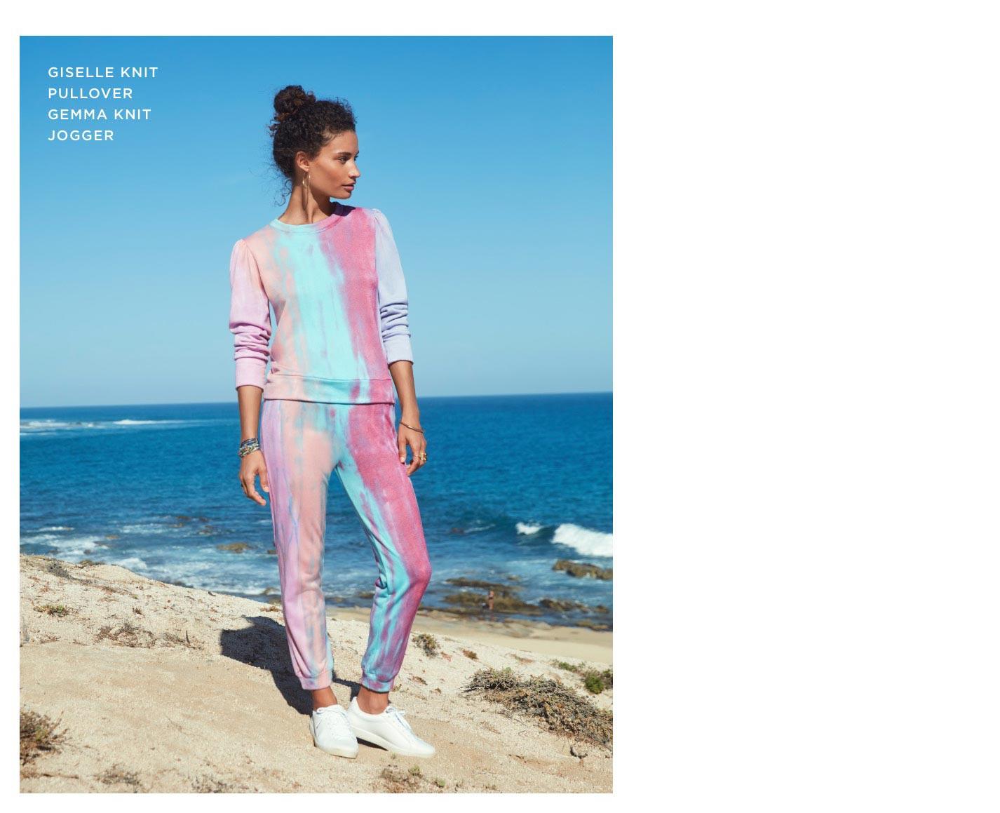 Giselle Knit Pullover Gemma Knit Jogger