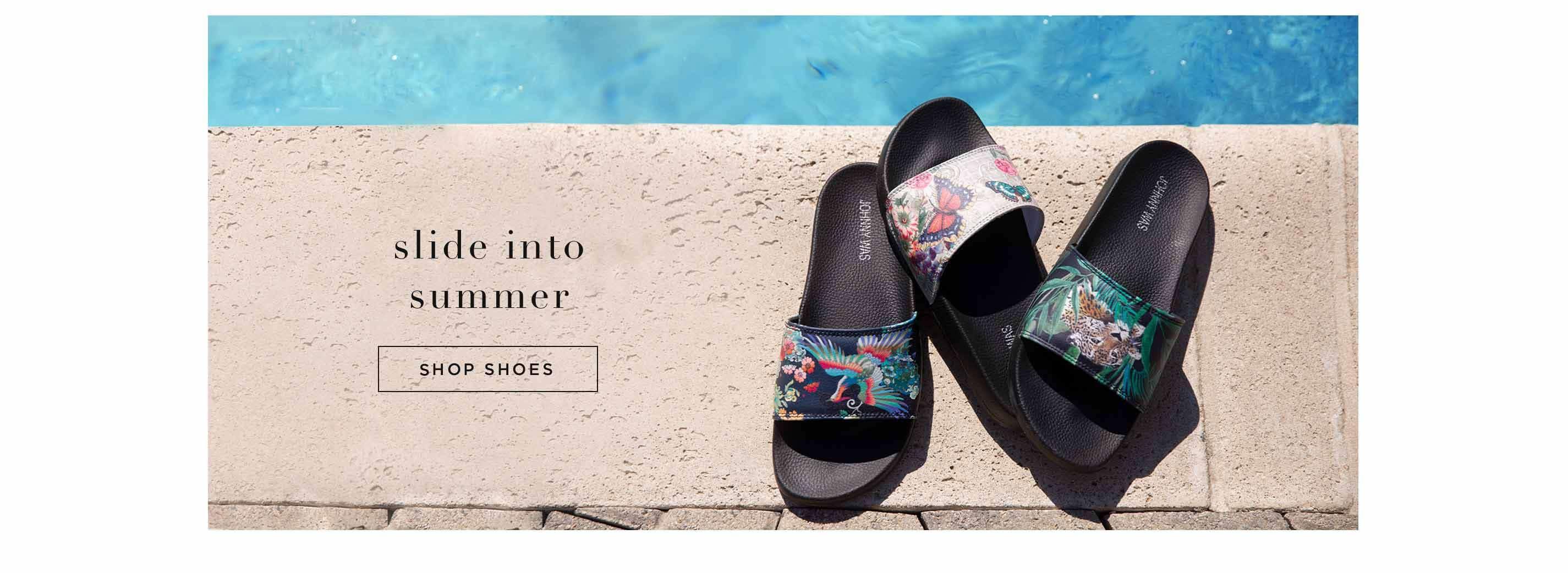 Slide Into Summer - Shop Shoes