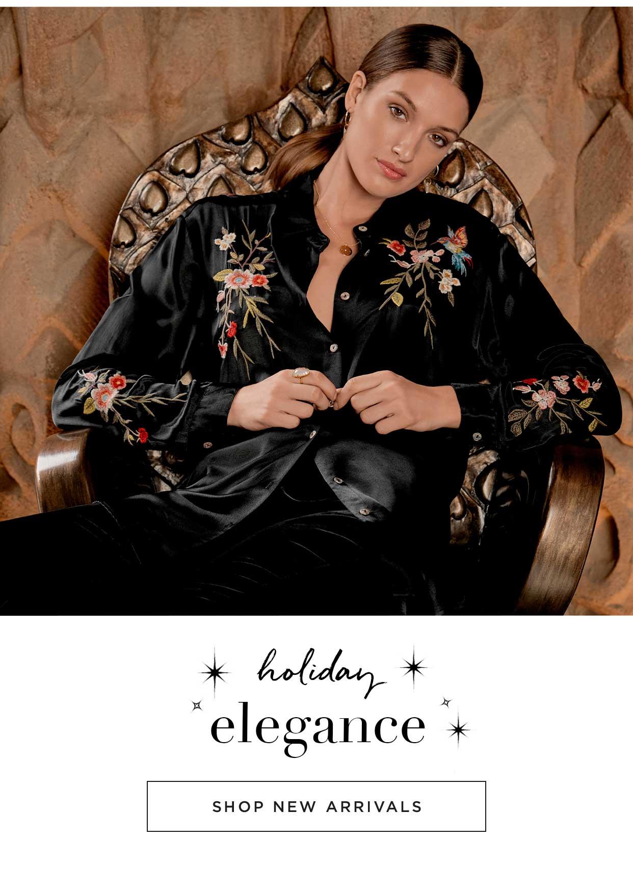 Holiday Elegance - Shop New Arrivals