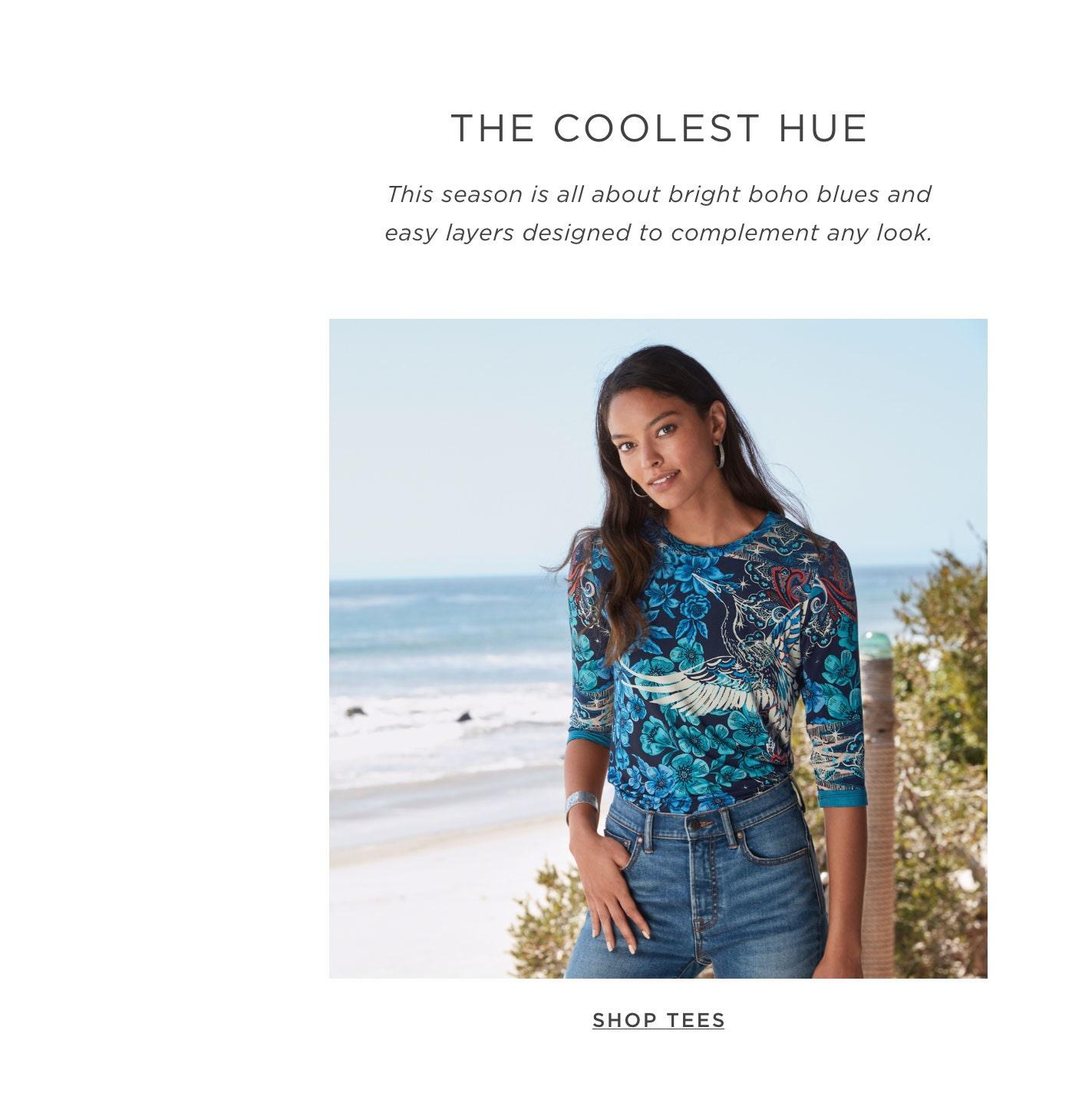 The Coolest Hue - Shop Tees