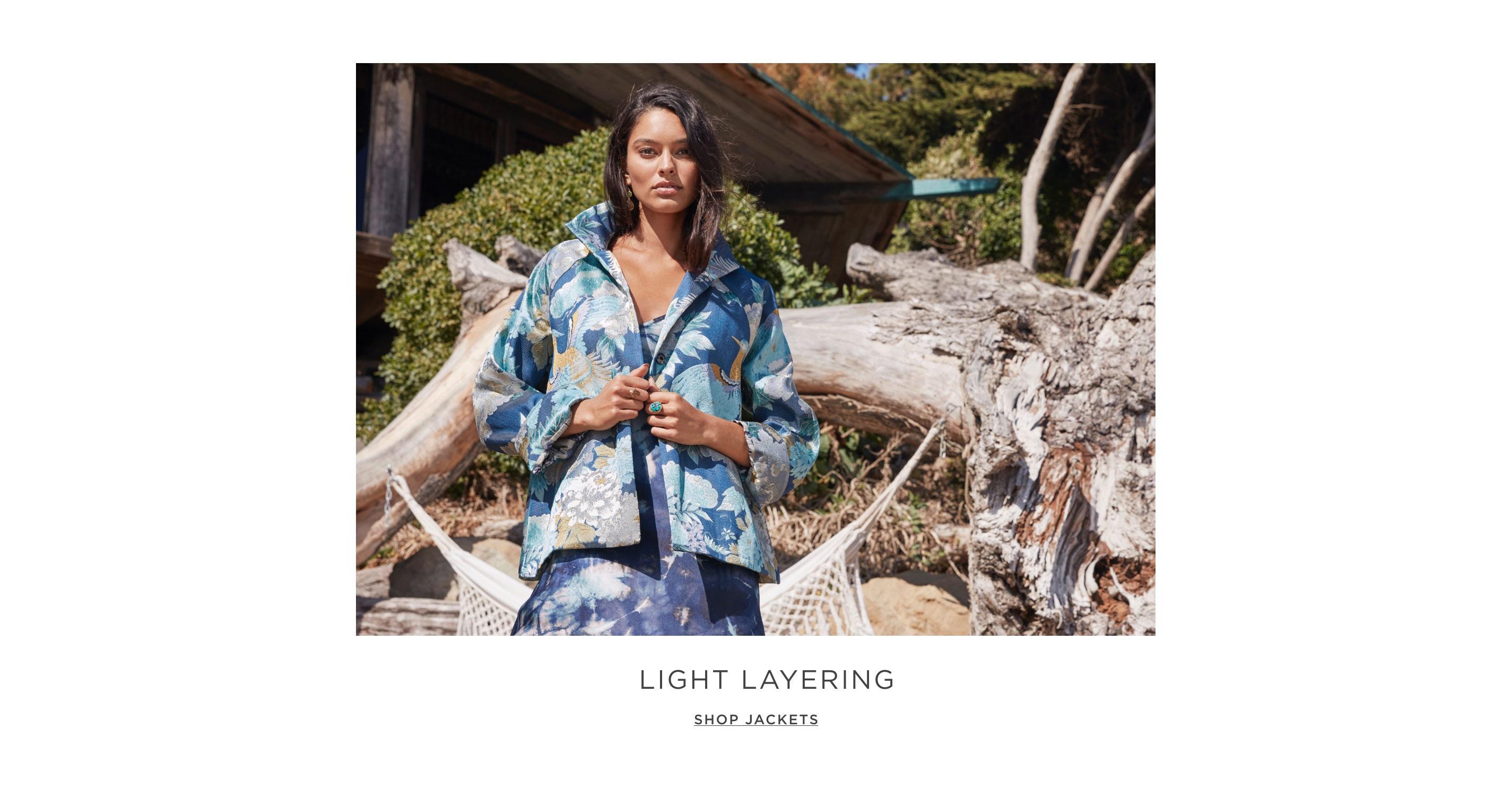 Light Layering - Shop Jackets
