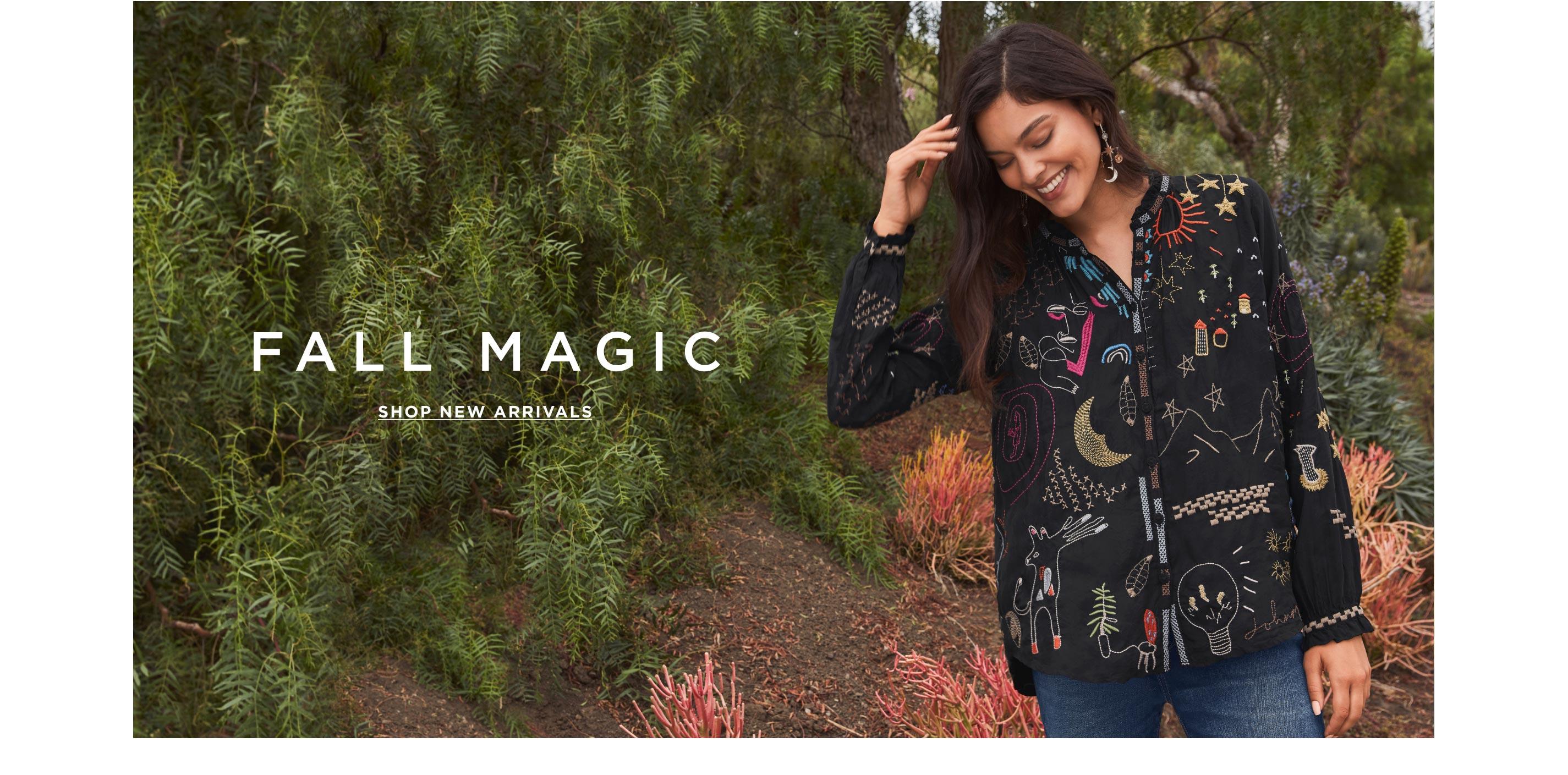Fall Magic – Shop New Arrivals