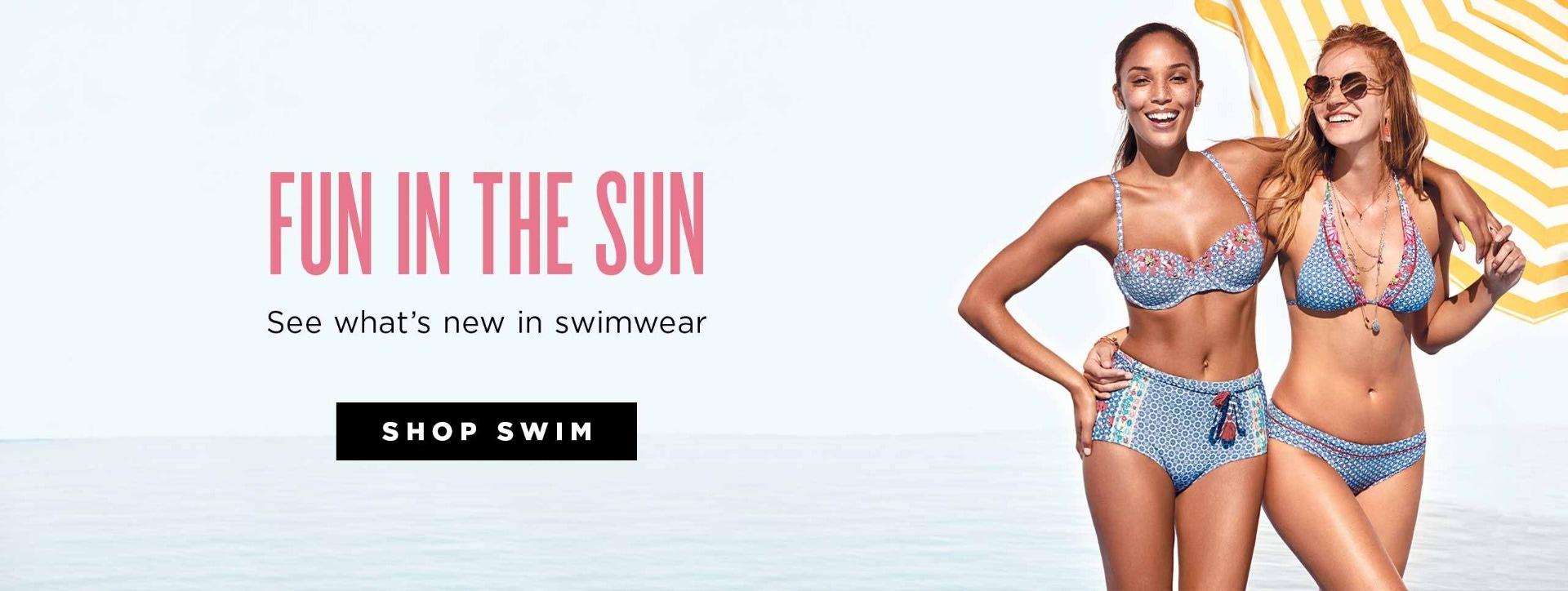 Fun in the sun - see What's new in Swimwear - Shop Swim