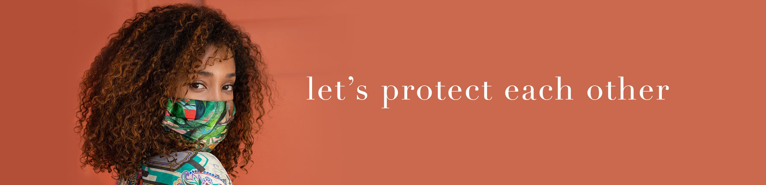 Let's protect each other - Johnny Was Masks