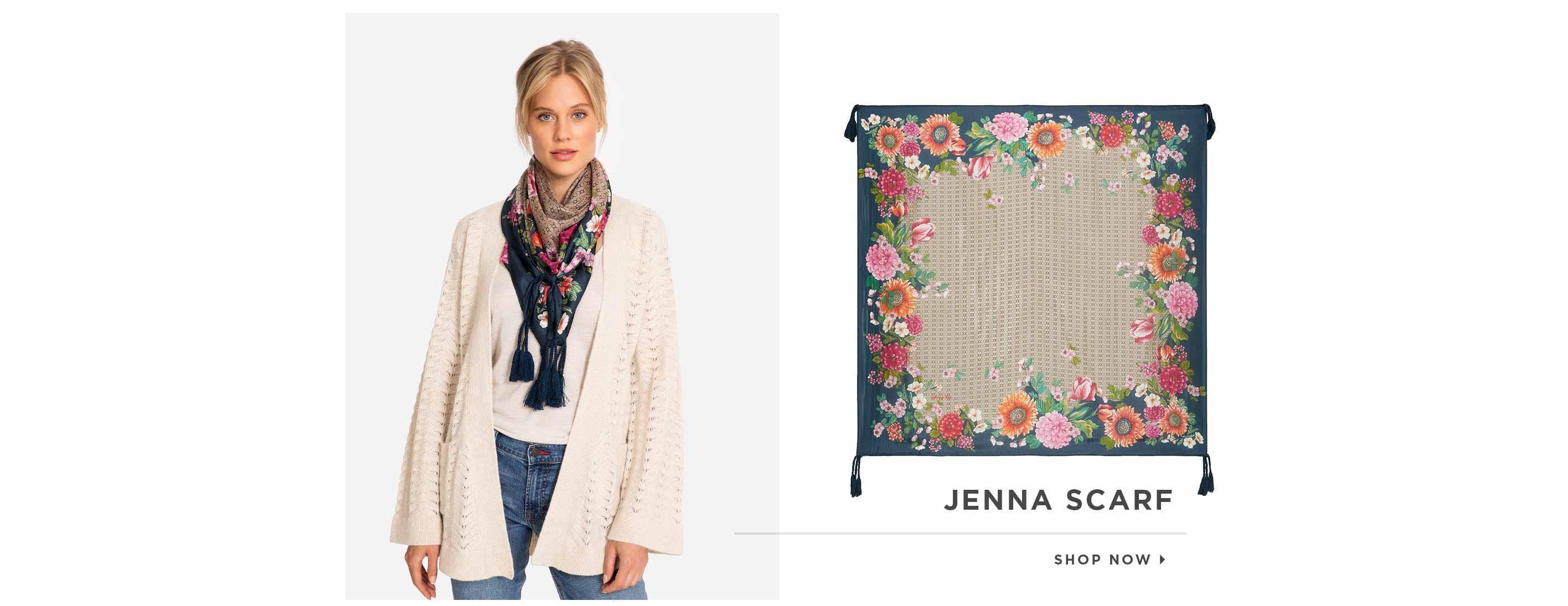 Jenna Scarf. Shop now.