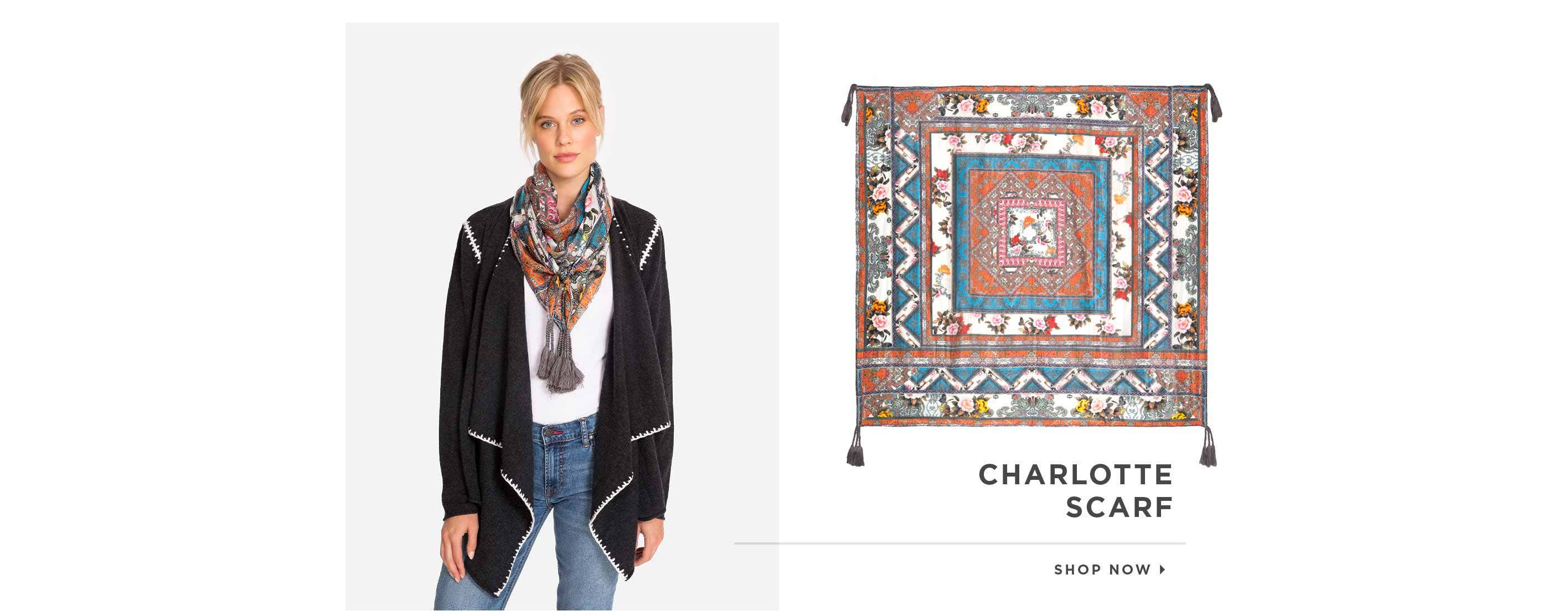 Charlotte Scarf. Shop now.