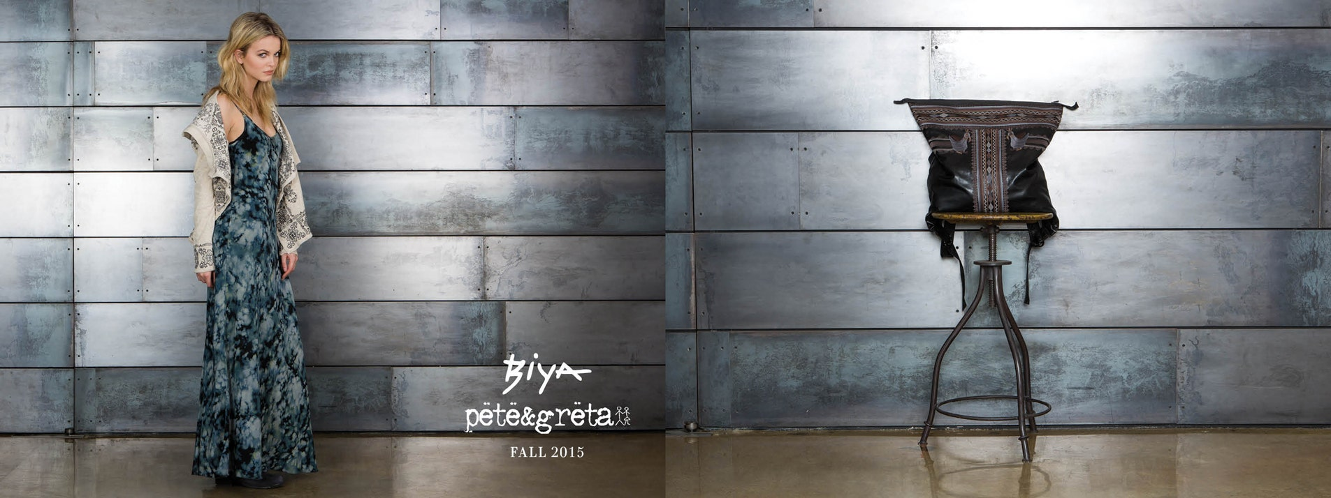 Biya Pete and Greta Fall 2015 Lookbook
