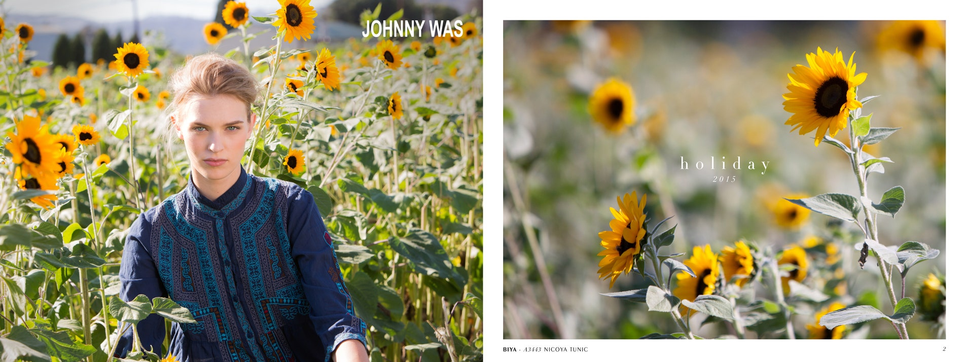 Johnny Was Clothing Holiday 2015 Lookbook