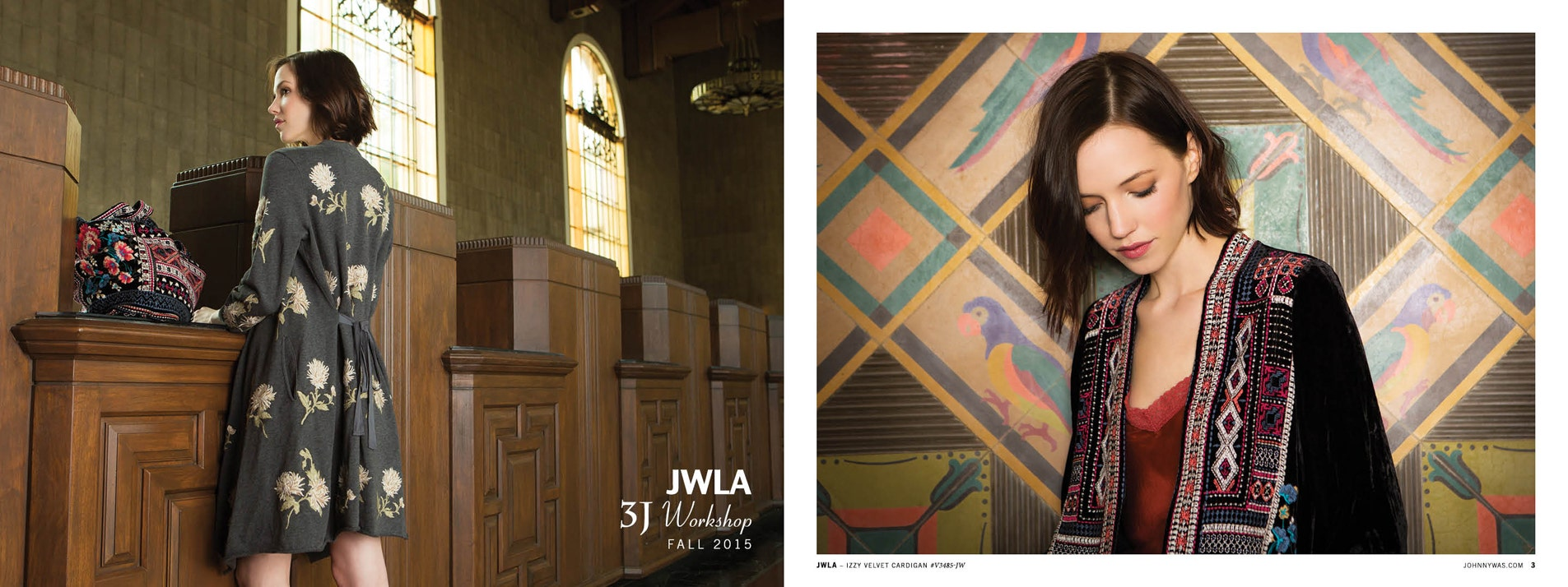 JWLA 3J Workshop Fall 2015 Lookbook