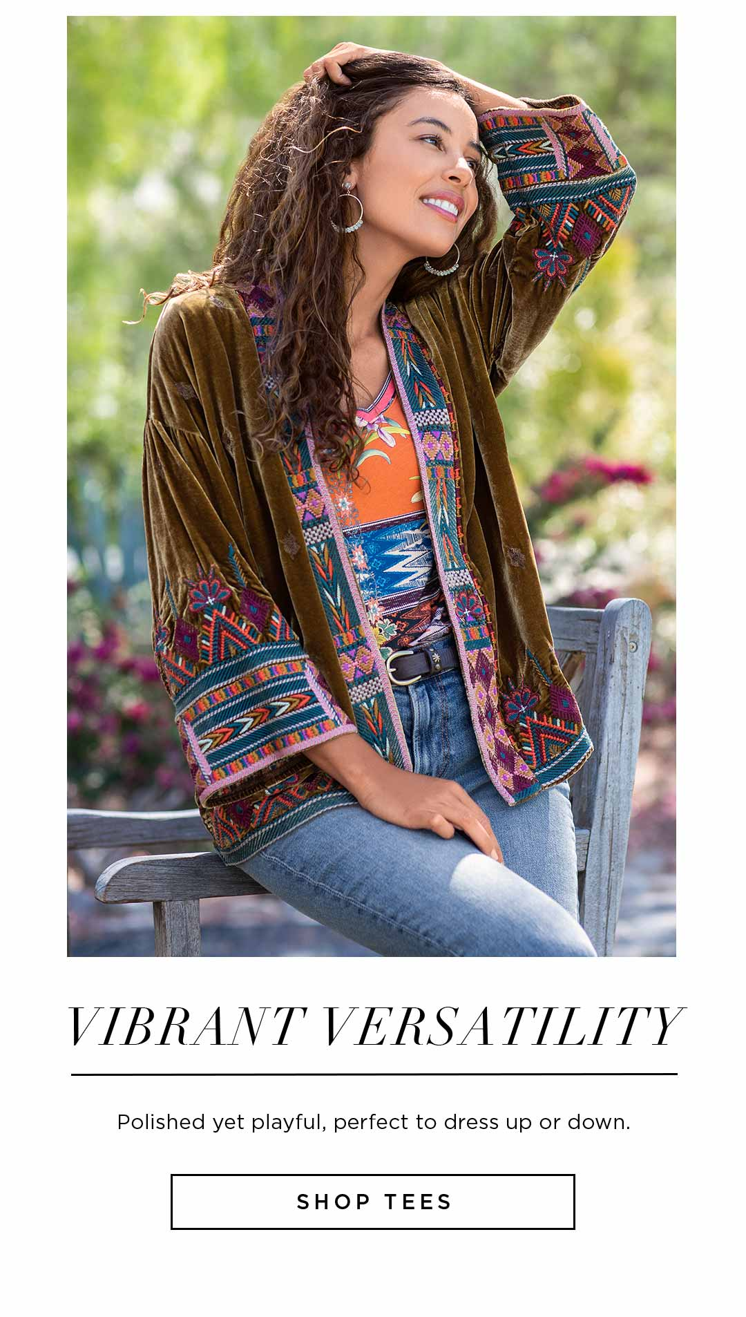 Vibrant Versatility - Polished yet playful, perfect to dress up or down - Shop Tees